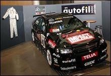 Bilen til Tommy Rustad. (Foto: Bjørnar Fjeldvær)