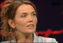 Kari Slaatsveen fra Det Røde Partiet (Foto: NRK)
