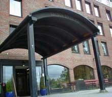 Rehabiliteringsavdelingen på sykehjemmet er i 2005-budsjettet gitt en totalramme på åtte millioner kroner. Foto: Rainer Prang, NRK.
