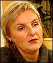 KrF-leder Valgerd Svarstad Haugland er ikke optimist i budsjettforhandlingene. (Arkivfoto)