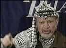 Palestinernes leder Yasir Arafat er nå i USA.