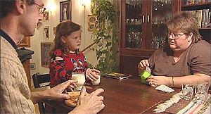 Hele familien til Lone er i ferd med å endre livsstilen sin, slik at de alle skal bli sunnere.
