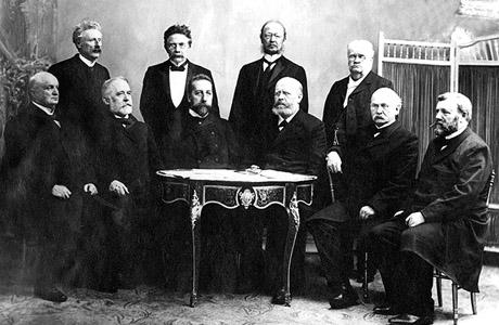 Christian Michelsen og hans regjering - Foto: NTB-arkiv / SCANPIX