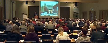 Norsk Bonde- og Småbrukarlag arrangerte årsmøte på Øyer mandag.