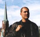 """Erik Ulfsby spiller hovedrollen som teologistudenten Johannes i første del av """"4 høytider"""", """"Dåpen"""". (NRK-foto: Helge Semb)"""