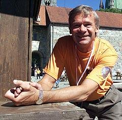 Direktør for Olavsfestdagen, Per Kvistad Uddu håper at samarbeidet med VM i offshore skal minimere lydskadene. Foto: Gorm Kallestad, Scanpix.