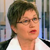 Laila Dåvøy held fram på Stortinget.
