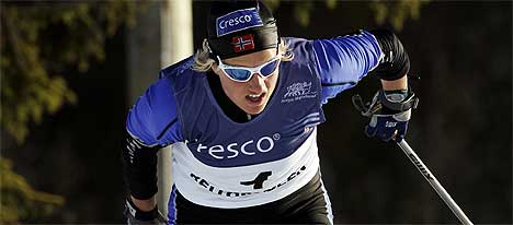 Vibeke Skofterud har ikke gått et renn siden 14.desember. Nå må hun også stå over helgens renn. (Foto: Tor Richardsen / SCANPIX)