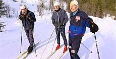 Et aktivt liv kan hjelpe deg til å holde deg frisk og sunn. Foto: NRK Puls