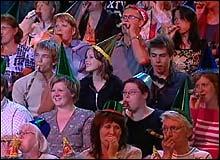 Bli med på fest! (Foto: NRK)