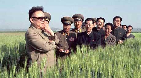 Nord-Koreas leder Kim Jong-il. (Foto: Scanpix / AP)