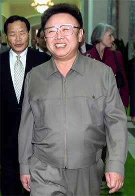 Kim Jong-il er president i Nord-Korea. (Foto: AFP/Scanpix)