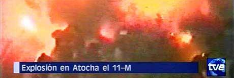 Rundt 200 menneske vart drepne i terroraksjonen mot Madrid 11. mars 2004. (Foto: TVE/Scanpix)