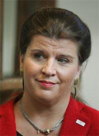 TILLIT: Avinor-direktør Randi Flesland har fremdeles tillit i styret. (Foto: Scanpix)