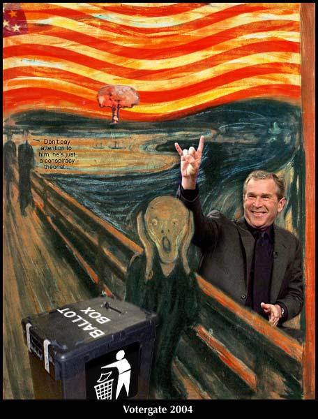 (English version: The Bush Election Scream)
