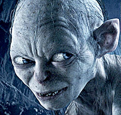 Sissel Kyrkje hater Gollum på film, emn synger gjerne sangen hans. Foto: NRK.