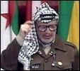 Palestinernes president Yasir Arafat.