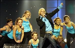 Norske @lek hadde ein fin opptreden i Håkons hall. (Foto: NRK)