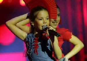 Maria Isabel vann JESC 2004 (Foto: NRK)