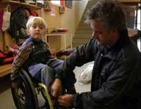 Vidar Alberti og sønnen Bendik (6). Foto: Tor Melgalvis