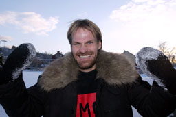 Erik Hoftun blir med Glimt ned i 1. divisjon, enten han vil eller ikke. Foto: Gorm Kallestad/SCANPIX