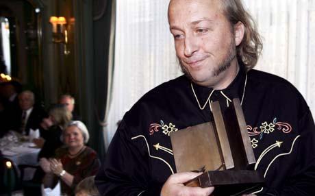 Levi Hendriksen var overrasket over å få prisen. Foto: Scanpix