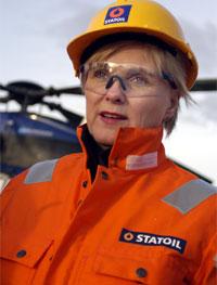 Olje- og energiminister Thorhild Widvey legger vekt på at Barentshavet ligger i et rolig hjørne av verden. (Arkivfoto: Kjetil Alsvik, Statoil/Scanpix)