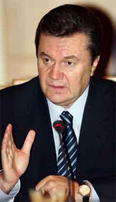 Viktor Janukovitsj er utropt til vinnar av presidentvalet i Ukraina. (Foto: Reuters/Scanpix)
