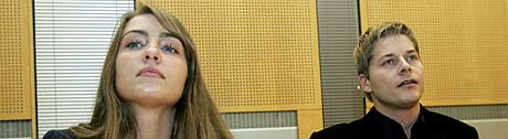 Big Brother-kjendisene Anette Young og Rodney Karlsen vant også ankesaken mot ukebladet Se og Hør. (Foto: Bjørn Sigurdsøn/Scanpix)
