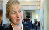 Bente Mikkelsen. Viseadministrerende direktør i Helse Øst innrømmer at hun ikke vet hvor mange som står i kø for behandling. Foto: NRK