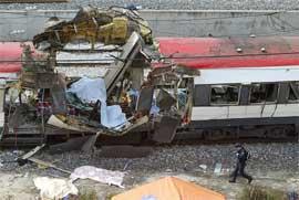 191 mennesker ble drept i terrorangrepene i Madrid 11. mars. (Foto: AFP/Scanpix)