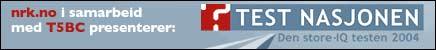 Før helgen ble Test Nasjonen profilert som et samarbeid mellom NRK og T5BC.