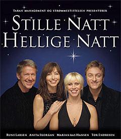 """Omsetning: 6 millioner. Anita Skorgan er igjen ute på turne med forestillingen """"Stille Natt Hellige Natt"""", sammen med musikalske venner. Foto: Promo."""
