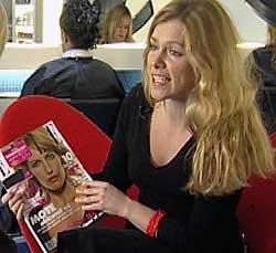 Ikke imponert. Martine Aurdal, politikk- og debattredaktør i feministbladet «Fett», synes forsidepikene er kjedelige.