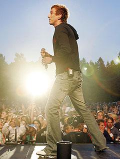 Kjartan Salvesen sliter med å trekke publikum til konsertene sine. Foto: Heiko Junge, Scanpix.