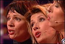 Kjerst Berge, Marit Voldsæter og Elisabeth Moberg (Foto: Nrk)