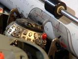 Skrivemaskinene med kulehode hadde også Qwerty-tastatur. Foto: NRK.