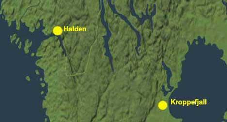 Ulveflokken i Halden/Ed har sitt revir på begge sider av grensen.