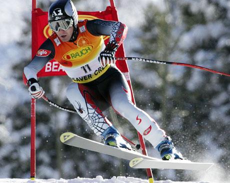 Stephan Görgl kjørte inn til seier fra et tidlig startnummer. (Foto: Scanpix)
