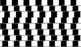 Tro det eller ei - linjene er helt parallelle! Ill.: Arkiv