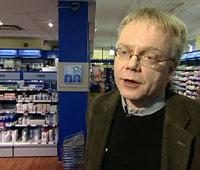 Kai Finsnes, direktør i Norges Apotekerforening. Foto: NRK.