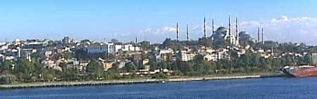 Istanbul kan bli rammet av jordskjelv (Foto: BBC/Horizon)