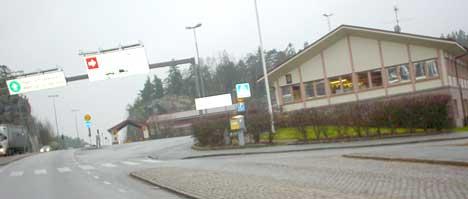 Det svenske Tullverket vil overvåke trafikken ved grenseovergangen på Svinesund. Foto: Rainer Prang, NRK