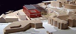 Modell av «I boks» arkitektfirmaet Medplan AS.