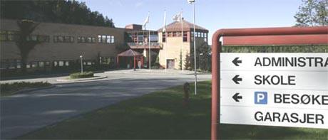Flykontrollsentralen i Røyken. Foto: Scanpix.