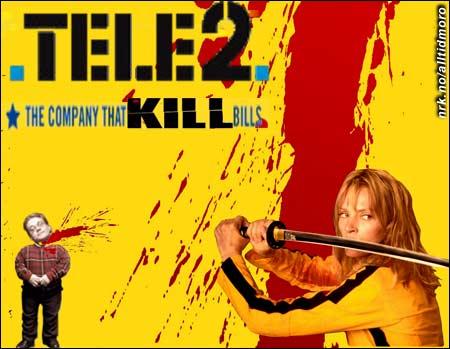 Tele2 leier inn Uma Thurman i sin nye reklamefilm. (Innsendt av Marius Markussen)