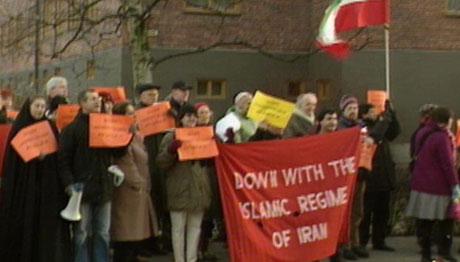 Demonstrasjon Iran. Illustrasjonsbilde (Scanpix)