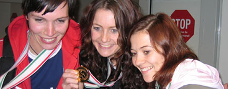 Mer gull i vente for LHK-jentene Katja Nyberg, Elisabeth Hilmo og Kari Mette Johansen?