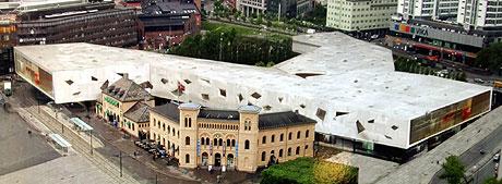 Det nederlandske arkitektfirmaet OMA har vunnet den prestisjetunge konkurransen om å utvikle Vestbanetomta. Foto: Scanpix