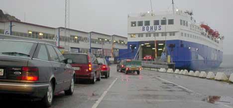 Det er to ferger på ruten Sandefjord-Strömstad.